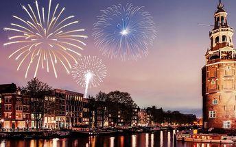 Silvestr v Amsterdamu: ubytování a sekt do páru