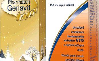 Boehringer Ingelheim Pharmaton Geriavit por.cps mol.100 CZ