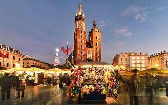Celodenní zájezd do adventního Krakova pro 1 osobu
