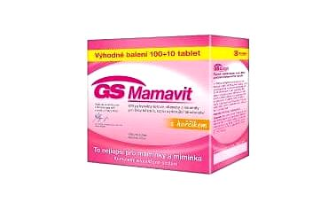 GS Mamavit 100 + 10 tablet ZDARMA