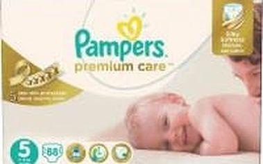 Pampers Plenky Premium Care Velikost 5 (Junior) 11-18 Kg - 88 ks