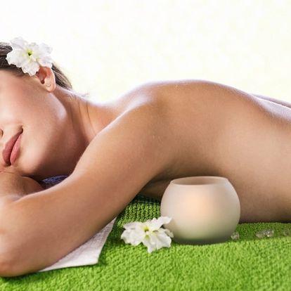 60minutová relaxační masáž