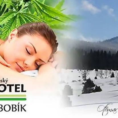 Největší konopné lázně v Evropě s dítětem do 12 let zdarma, polopenzí a all inclusive nápoji v Hotelu Bobík s vlastním minipivovarem, platnost až do 30. 6. 2017