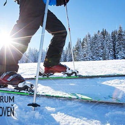Celodenní a sezónní skipass do Ski centra Bačova Roveň