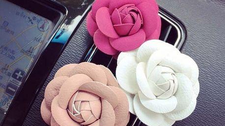 Vonné květy do auta - Růže