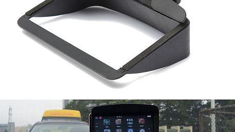Stínítko GPS obrazovky 12,5x8x3cm - dodání do 2 dnů