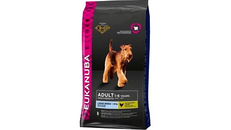 Eukanuba Adult Large Breed 15 kg + 3kg Zdarma
