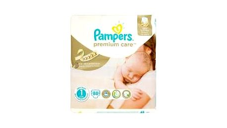 PAMPERS Premium Care Newborn 2-5 kg 88 ks