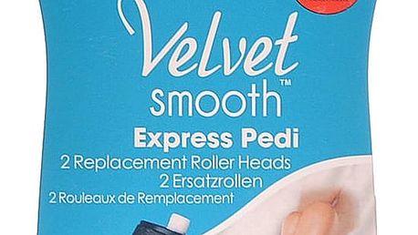 SCHOLL Velvet náhradní válečky do elektrického pilníku středně hrubé 2 ks
