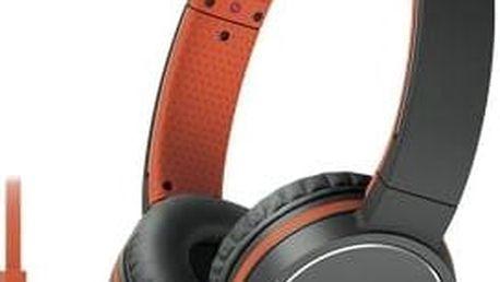 Sony MDRZX660APD.CE7 (MDRZX660APD.CE7) oranžová
