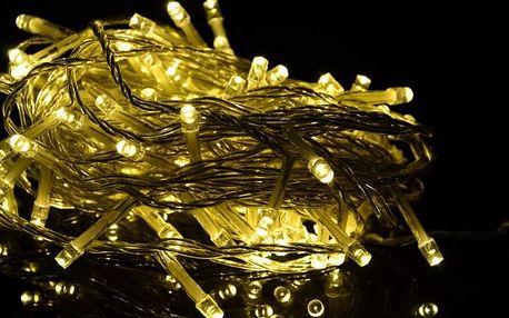 Vánoční LED osvětlení 40 m - teple bílá, 400 diod