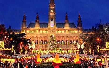 Adventní Vídeň a výhodné nákupy v Primarku – jednodenní zájezd