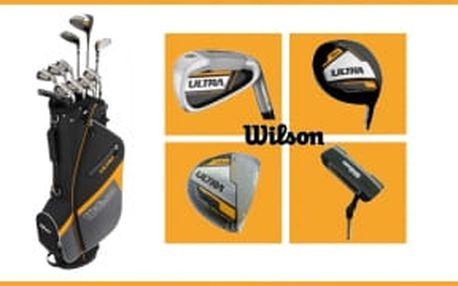 Neoodalujte nákup golfového setu. Kompletní pánský golfový set Wilson Ultra - driver, dřevo, hybrid, železa 5-SW, putter, bag, vše za 5750 Kč, to má drive.