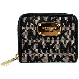 Michael Kors Elegantní peněženka Jet Set Item Wallet Black Multi