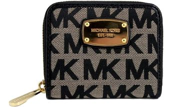 Michael Kors Elegantní peněženka Jet Set Item Wallet Black Multi