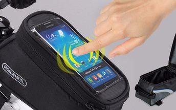Cyklistické pouzdro Roswheel na mobil a jiné drobnosti
