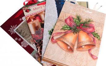 Dárková taška Vánoce 44x31x12cm
