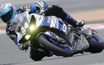 Jízda na závodní motorce v Ústeckém kraji