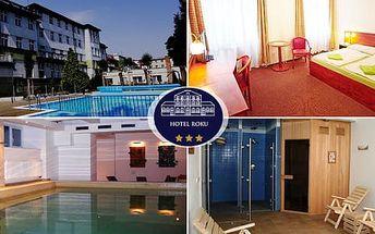 Šumavský wellness s polopenzí a bazénem v Hotelu Centrál***