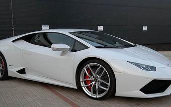 Jízda v Lamborghini Huracán v Jihomoravském kraji