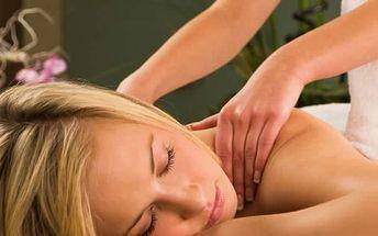 Balíček procedur v salonu Ráj v Plzni v délce 80 min. Masáž zad, šíje a krční páteře, masáž obličeje
