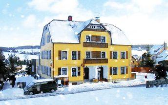 3–6denní pobyt s polopenzí pro 2 osoby v Krušných horách v penzionu U Pohody