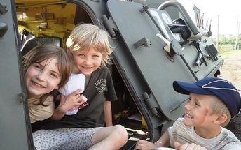 Den malého tankisty v Pardubickém kraji