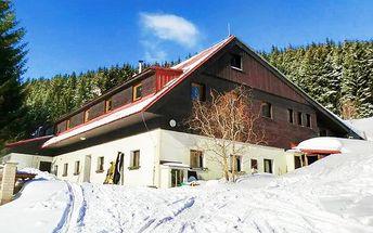 3–5denní pobyt s polopenzí pro 2 osoby v chatě Ťapka v Krkonoších