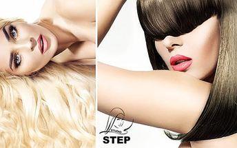 Až 75% sleva na kadeřnické balíčky i brazilský keratin v oblíbeném studiu STEP