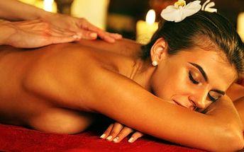 68% sleva na masáž dle vašeho výběru