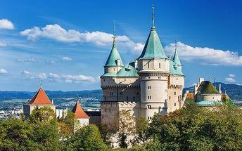 3 nebo 6denní pobyt pro 2 s polopenzí a wellness v hotelu Regia v Bojnicích