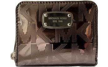 Michael Kors Elegantní peněženka Jet Set Item Wallet Nickel