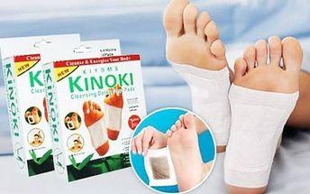 50 detoxikačních náplastí kinoki pro očistu těla