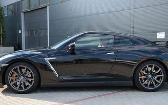 Jízda v supersportu Nissan GT-R v Praze