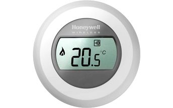 Honeywell evohome Round Y87RF2024, bezdrátový digitální pokojový ovladač - T87RF2025