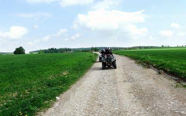 Dobrodružná jízda na čtyřkolce