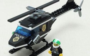 Dětská stavebnice policejní vrtulník