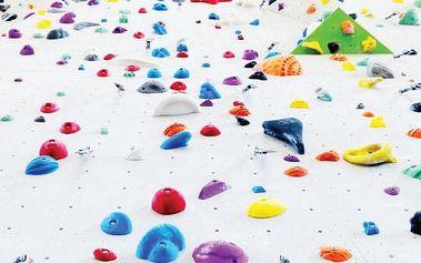 Kurz lezení na umělé stěně v Praze
