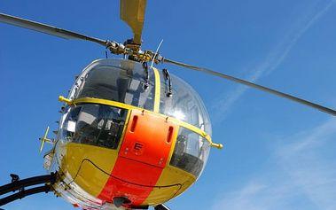 Vyhlídkové lety vrtulníkem ve Středočeském kraji