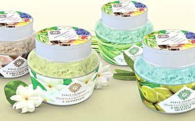 Ručně vyráběný přírodní cukrový peeling pro hebkou pokožku