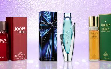 Toaletní a parfémované vody pro muže i ženy