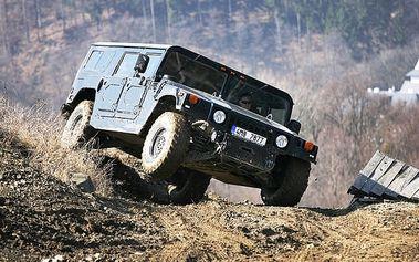 Legenda Hummer H1 v Olomouckém kraji