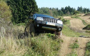 Extreme jízda v Jeepu na Vysočině