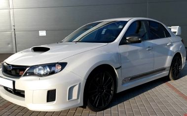 Projížďka v Subaru Impreza WRX STI