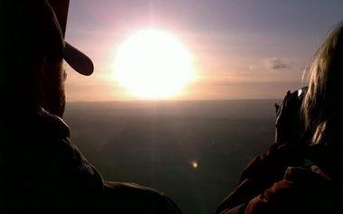 Let balónem nad Prahou