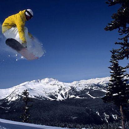 Snowboardová škola v Ústeckém kraji