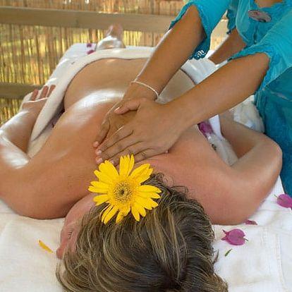Thajská aromaterapeutická masáž v Karlovarském kraji