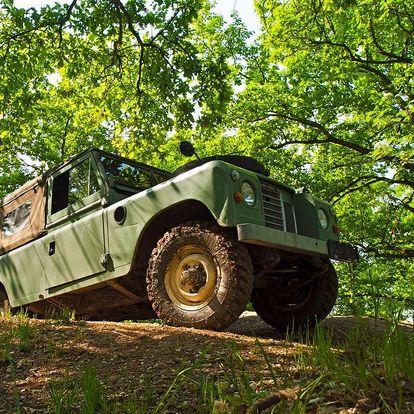 Land Rover off-road - celodenní trénink