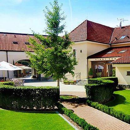 3–5denní pobyt s polopenzí a wellness v penzionu Chateau Krakovany u Piešťan pro 2