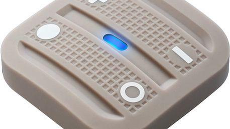 Fibaro NodOn Soft Remote, magnetické bateriové 4tlačítko na zeď, světle hnědá - NO-CRC-3-6-03